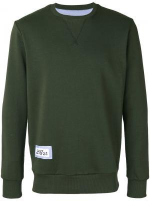 Logo patch sweatshirt Lc23. Цвет: зелёный