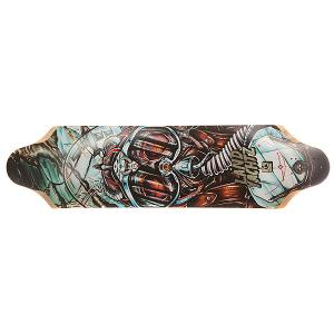 Дека для скейтборда лонгборда  Top Speed Deck Assorted 9.5 x 36 (91.4 см) Landyachtz. Цвет: мультиколор