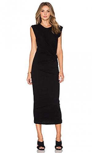 Платье pricie IRO. Цвет: черный