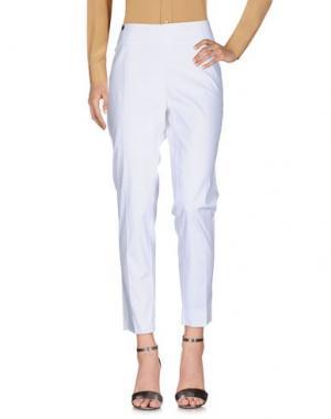 Повседневные брюки MOUCHE. Цвет: белый