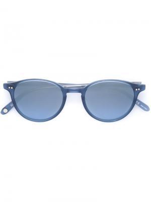 Солнцезащитные очки Pacific Garrett Leight. Цвет: синий