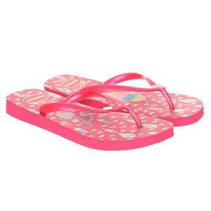 Вьетнамки детские  Fun Pink Havaianas. Цвет: розовый