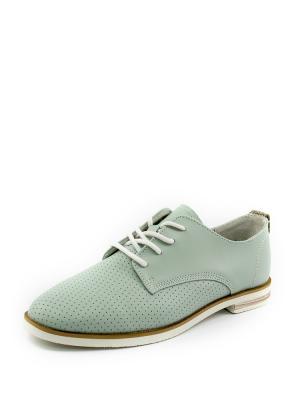 Туфли Zenden. Цвет: бирюзовый