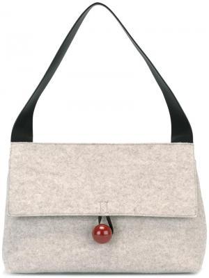 Средняя сумка на плечо Rose Corto Moltedo. Цвет: телесный
