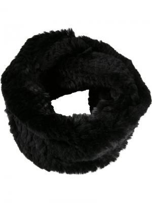 Вязаный шарф Jocelyn. Цвет: чёрный