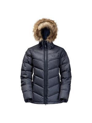Куртка BAFFIN BAY JACKET WOMEN Jack Wolfskin. Цвет: темно-синий