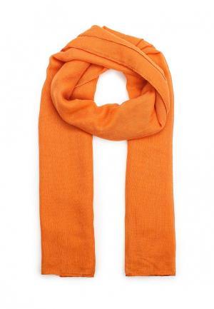 Шарф Piazza Italia. Цвет: оранжевый