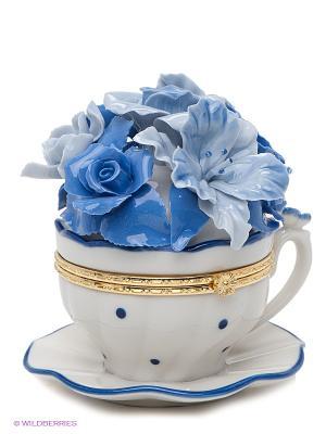 Композиция Чашечка радости Pavone. Цвет: голубой