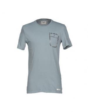 Футболка MAESNA. Цвет: серый