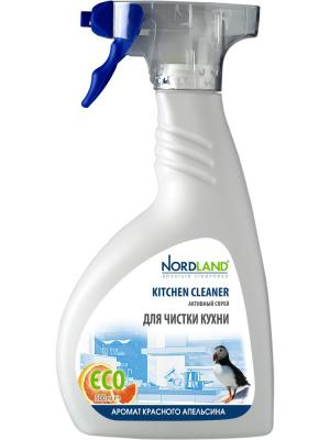Активный спрей для чистки кухни, 500 мл. NORDLAND. Цвет: белый