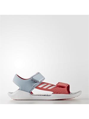 Сандалии дет. спорт. RapidaSwim J Adidas. Цвет: серый, красный