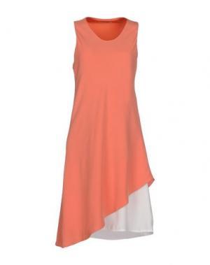 Платье до колена LOU LONDON. Цвет: оранжевый