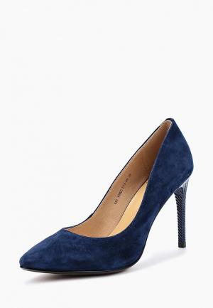 Туфли Francesco Donni. Цвет: синий