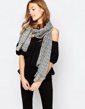 Becksondergaard Oversize-шарф. Цвет: черный