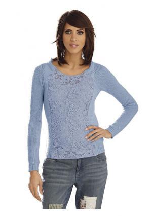 Пуловер Linea Tesini. Цвет: розовый