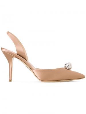 Туфли с ремешком на пятке Paul Andrew. Цвет: коричневый