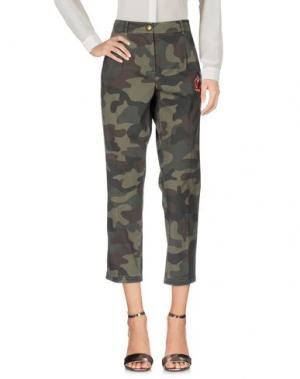 Повседневные брюки 19.70 NINETEEN SEVENTY. Цвет: зеленый-милитари