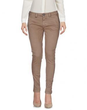 Повседневные брюки DW⁵. Цвет: хаки