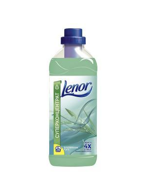 Концентрированный кондиционер для белья, Альпийские луга, 1л. Lenor. Цвет: светло-зеленый