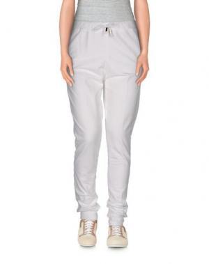 Повседневные брюки JIJIL. Цвет: белый