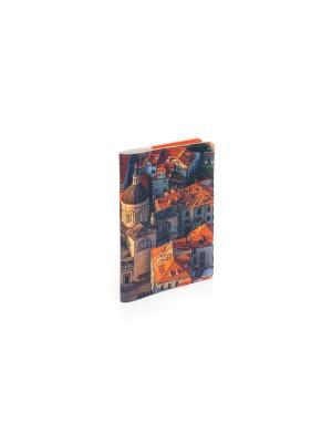 Обложка на паспорт Дубровник Eshemoda. Цвет: оранжевый