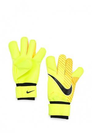 Перчатки вратарские Nike. Цвет: желтый