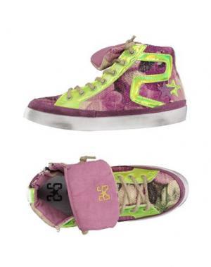 Высокие кеды и кроссовки 2STAR. Цвет: светло-фиолетовый