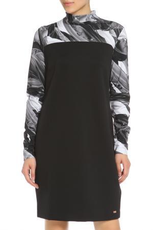 Платье Escada. Цвет: черный, серый
