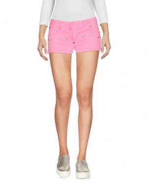 Джинсовые шорты PHILIPP PLEIN. Цвет: розовый