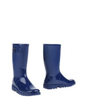 Полусапоги и высокие ботинки SENSI. Цвет: ярко-синий