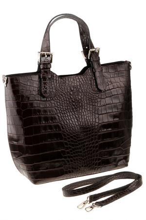 Сумка FLORENCE BAGS. Цвет: dark brown