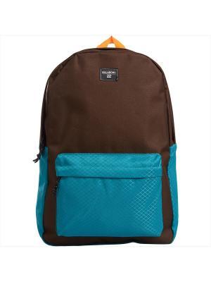 Рюкзак ALL DAY (FW17) BILLABONG. Цвет: лазурный, темно-коричневый