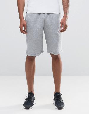 Jordan Серые шорты Nike Jumpman Flight 824020-063. Цвет: серый