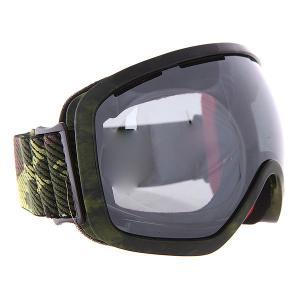 Маска для сноуборда  Bullet Army Ashbury. Цвет: зеленый