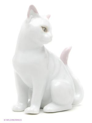 Фигурка Кошка Маркиза Pavone. Цвет: белый, розовый