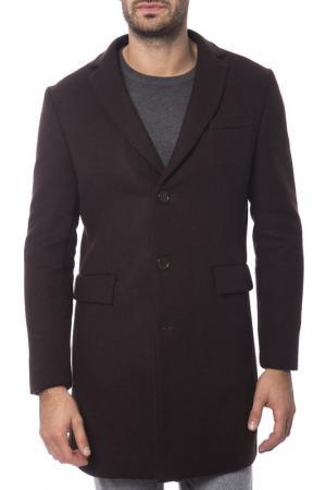 Пальто Trussardi Collection. Цвет: коричневый