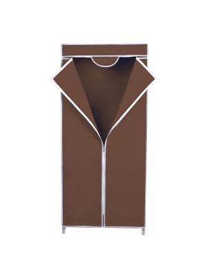 Система для хранения одежды Miolla. Цвет: коричневый