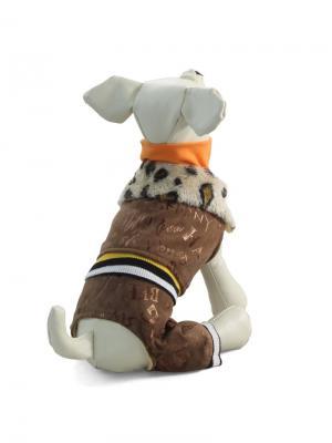 Костюм  для животных (зимний) TRIOL. Цвет: коричневый