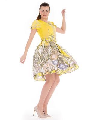 Платье PROFITO AVANTAGE. Цвет: желтый