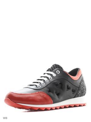 Кроссовки TOSCA BLU. Цвет: красный