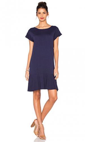 Платье salome Velvet by Graham & Spencer. Цвет: синий