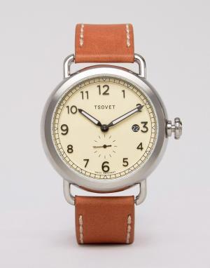 Tsovet Часы. Цвет: коричневый