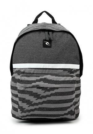 Рюкзак Rip Curl. Цвет: серый