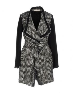 Легкое пальто NEW YORK INDUSTRIE. Цвет: черный