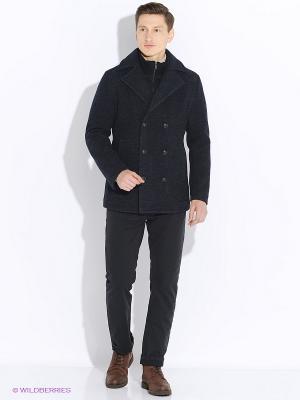 Пальто GZM. Цвет: темно-серый