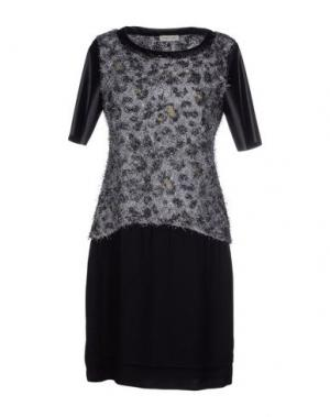 Короткое платье GIORGIA & JOHNS. Цвет: серый