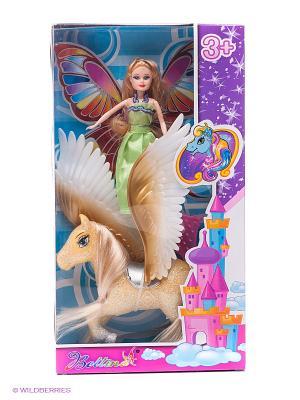 Игровой набор Кукла и единорог VELD-CO. Цвет: бежевый