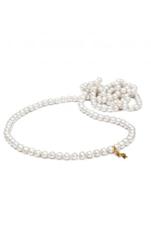 Ожерелье 113048 Nasonpearl. Цвет: белый