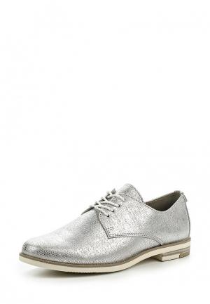Ботинки Marco Tozzi. Цвет: серебряный