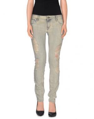 Джинсовые брюки CYCLE. Цвет: бежевый